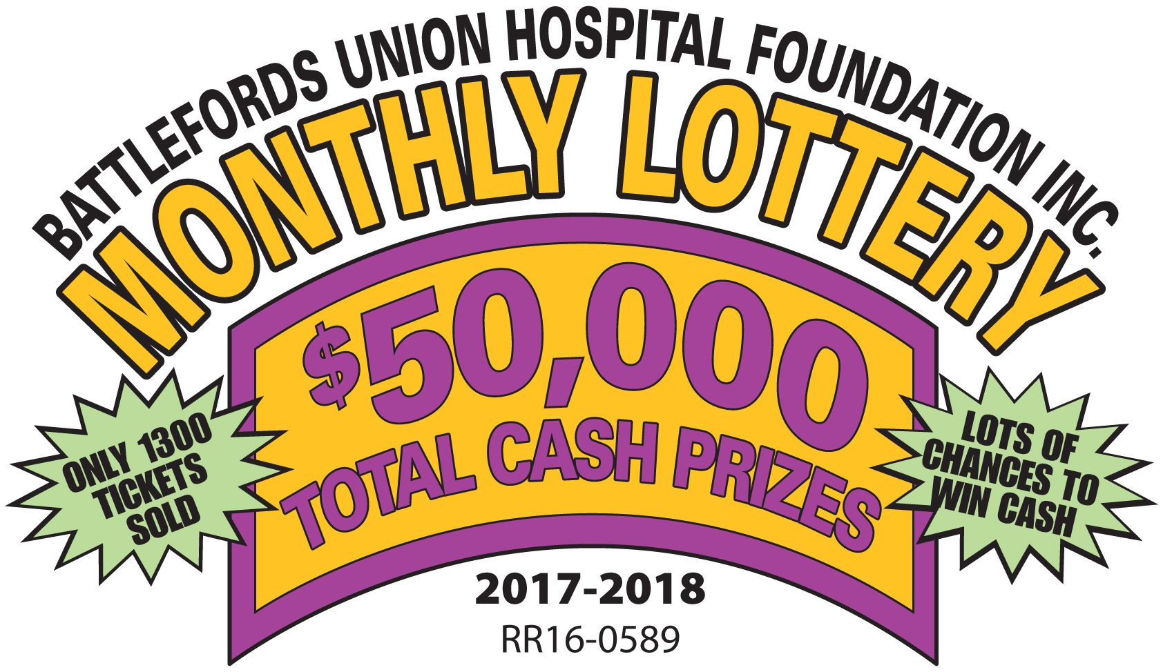 2017 Monthly Lottery