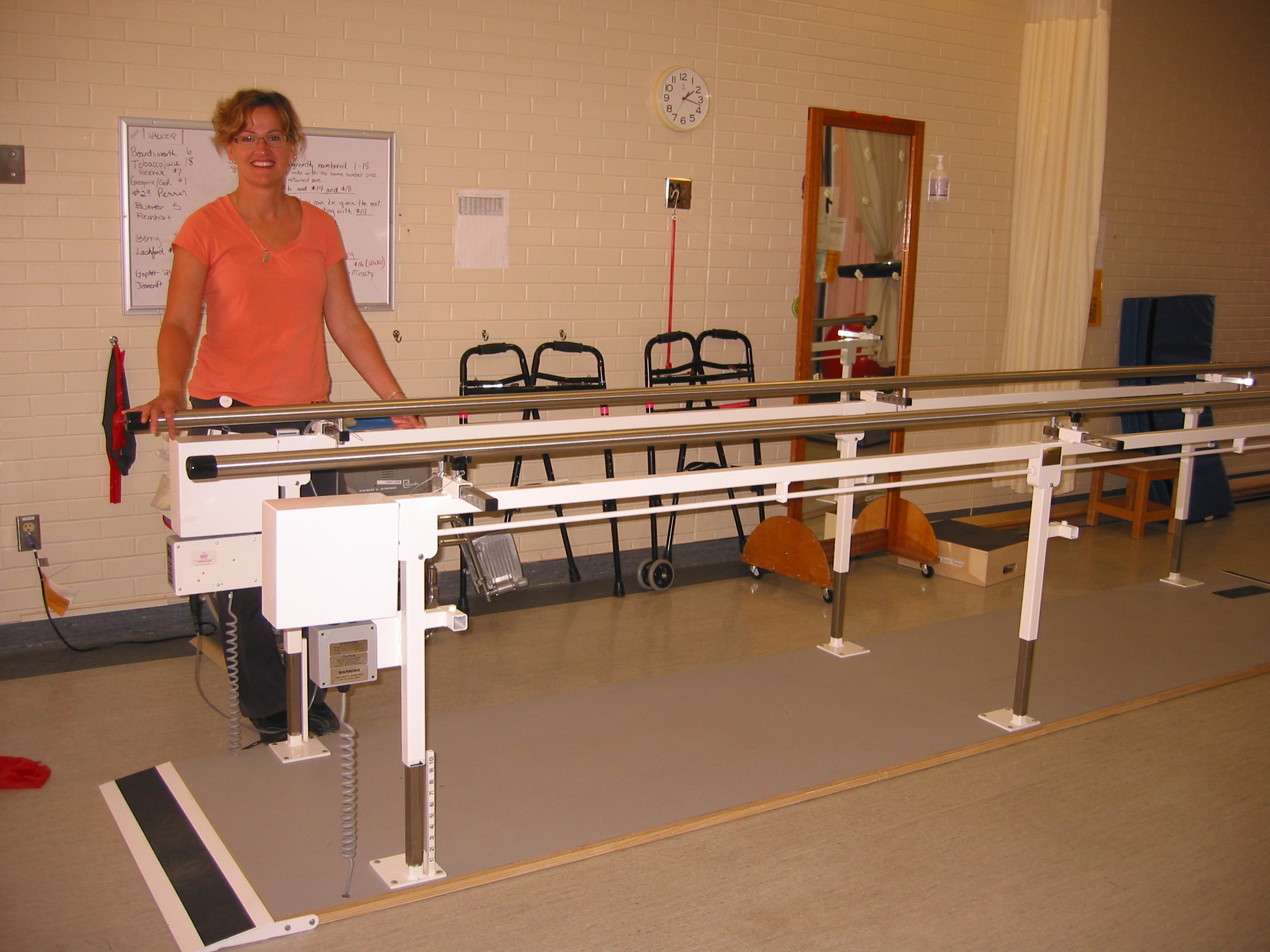 Parallel Bars for Physiotherapy