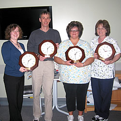 New Clocks In Memory of Doreen Pierce